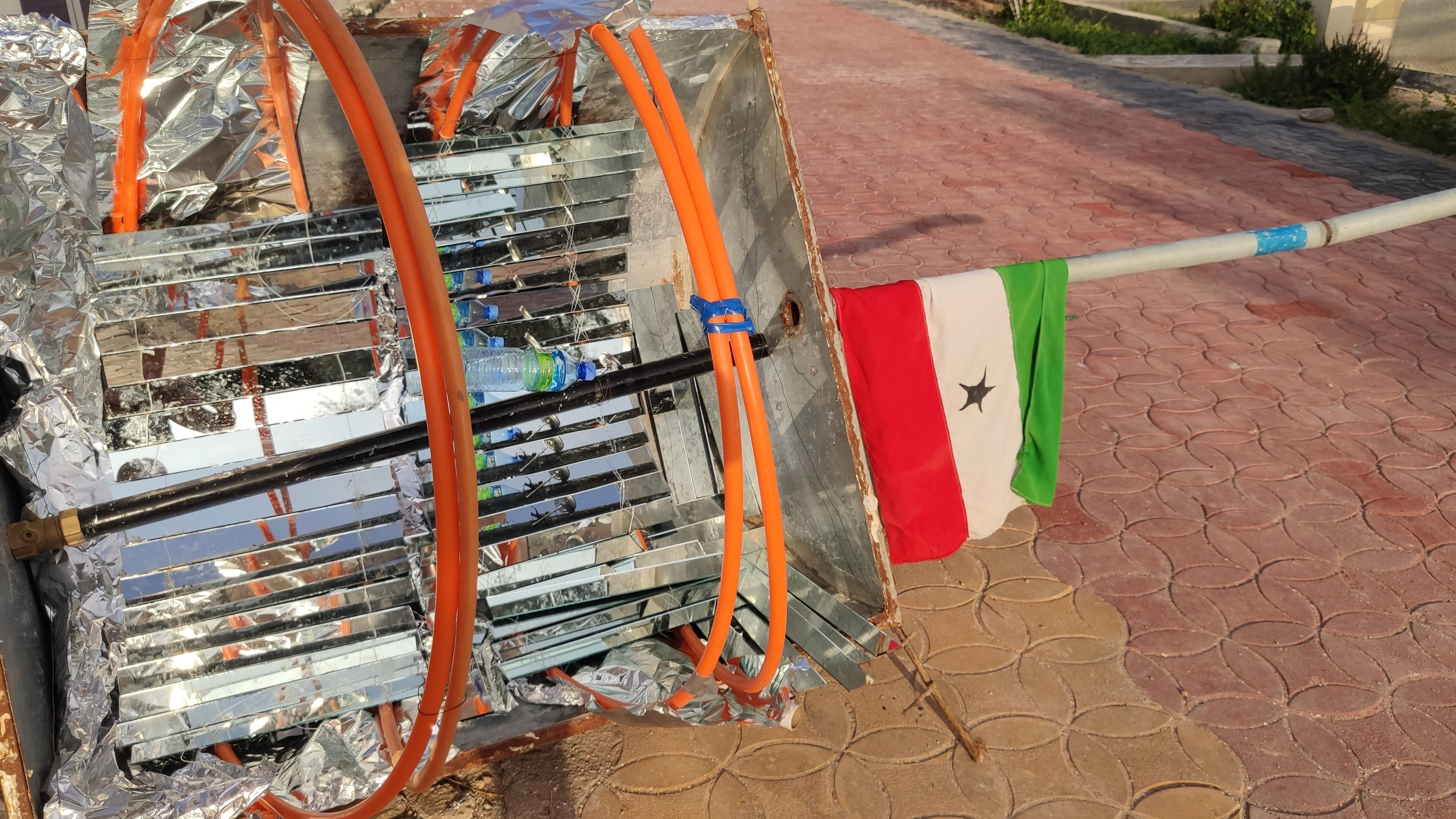 Somalilands flagga