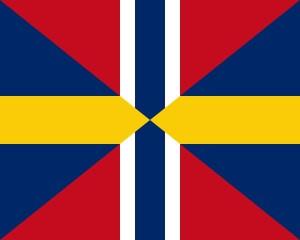 Norsk-Svenska Unionsflaggan